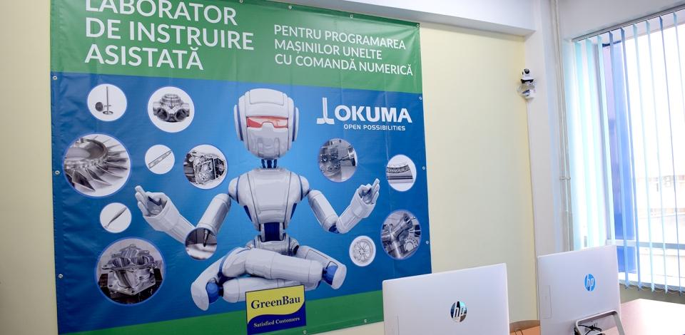 A fost inaugurat laboratorul modernizat de compania GreenBau la Facultatea de Construcții de Mașini a Politehnicii ieșene